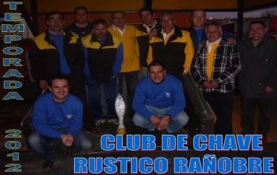 CLUB DE CHAVE RUSTICO RAÑOBRE TEMPORADA 2012