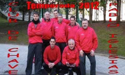 CLUB DE CHAVE PABLO IGLESIAS TEMPORADA 2012
